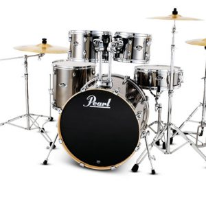 Pearl drumset with sticks